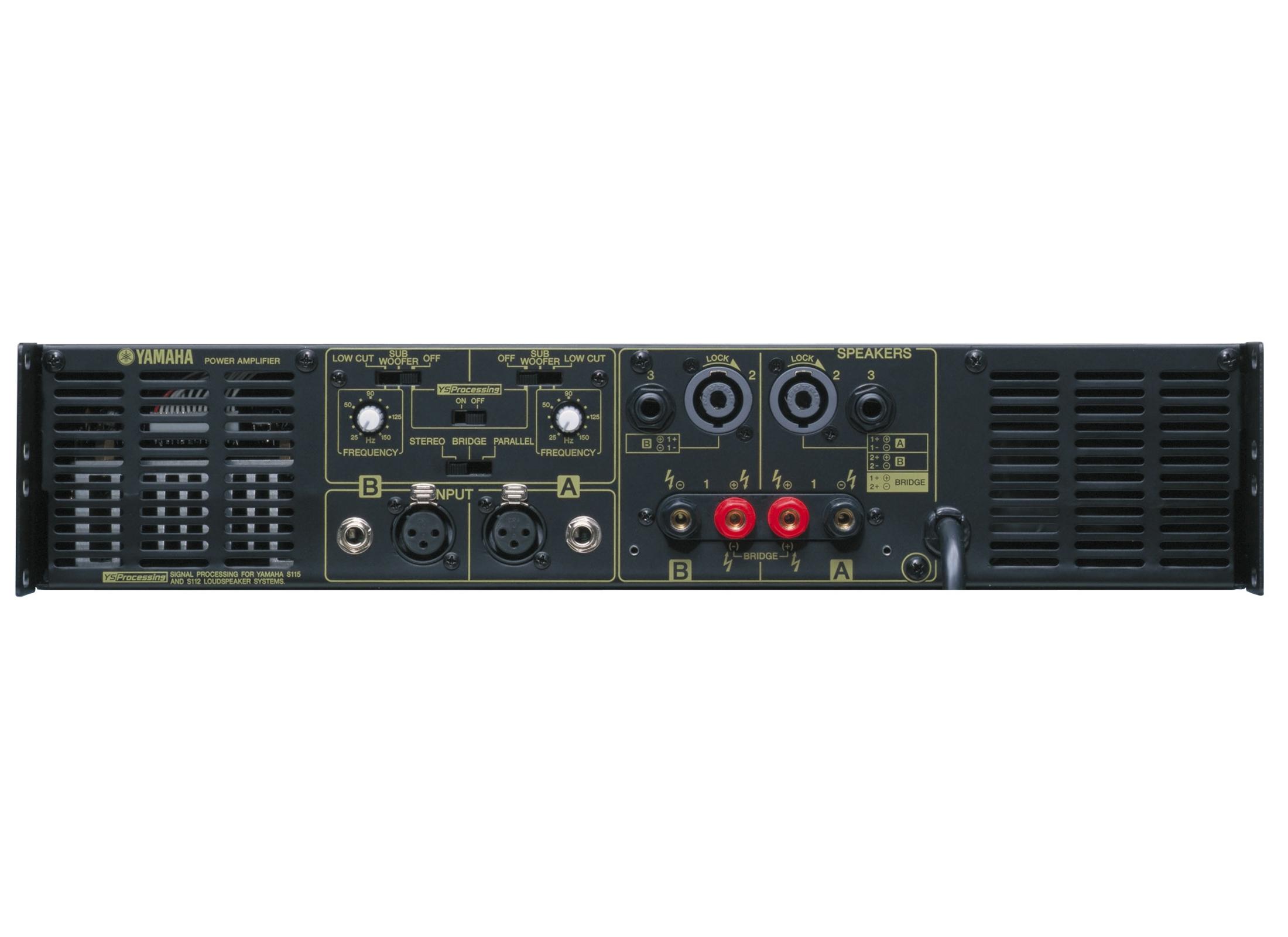 Yamaha P2500s Amplifier At Huss Light  U0026 Sound