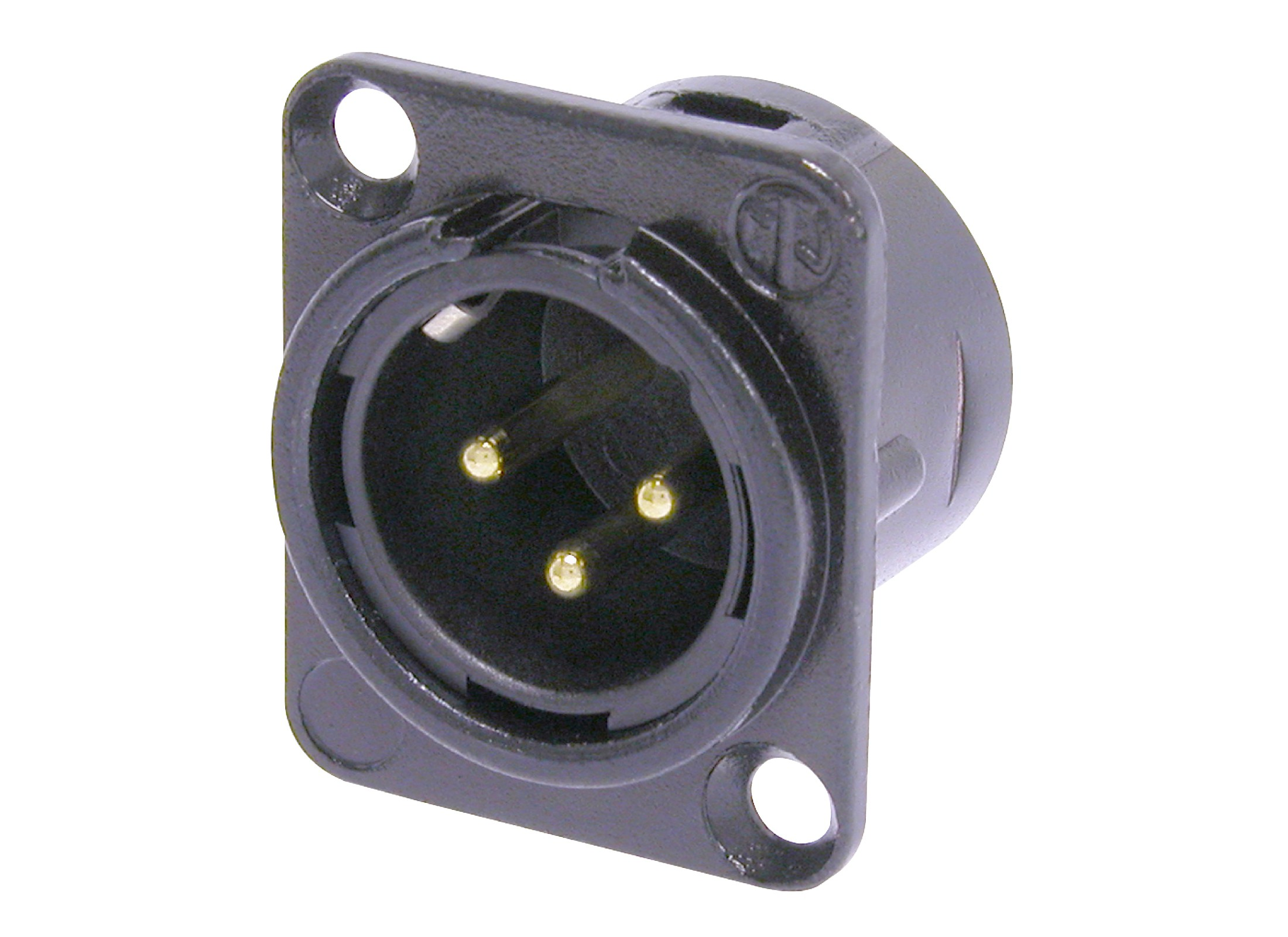 Neutrik Nc3mdl1 B Xlr 3pin Panel Jack Online At Low Prices Huss Wiring 1