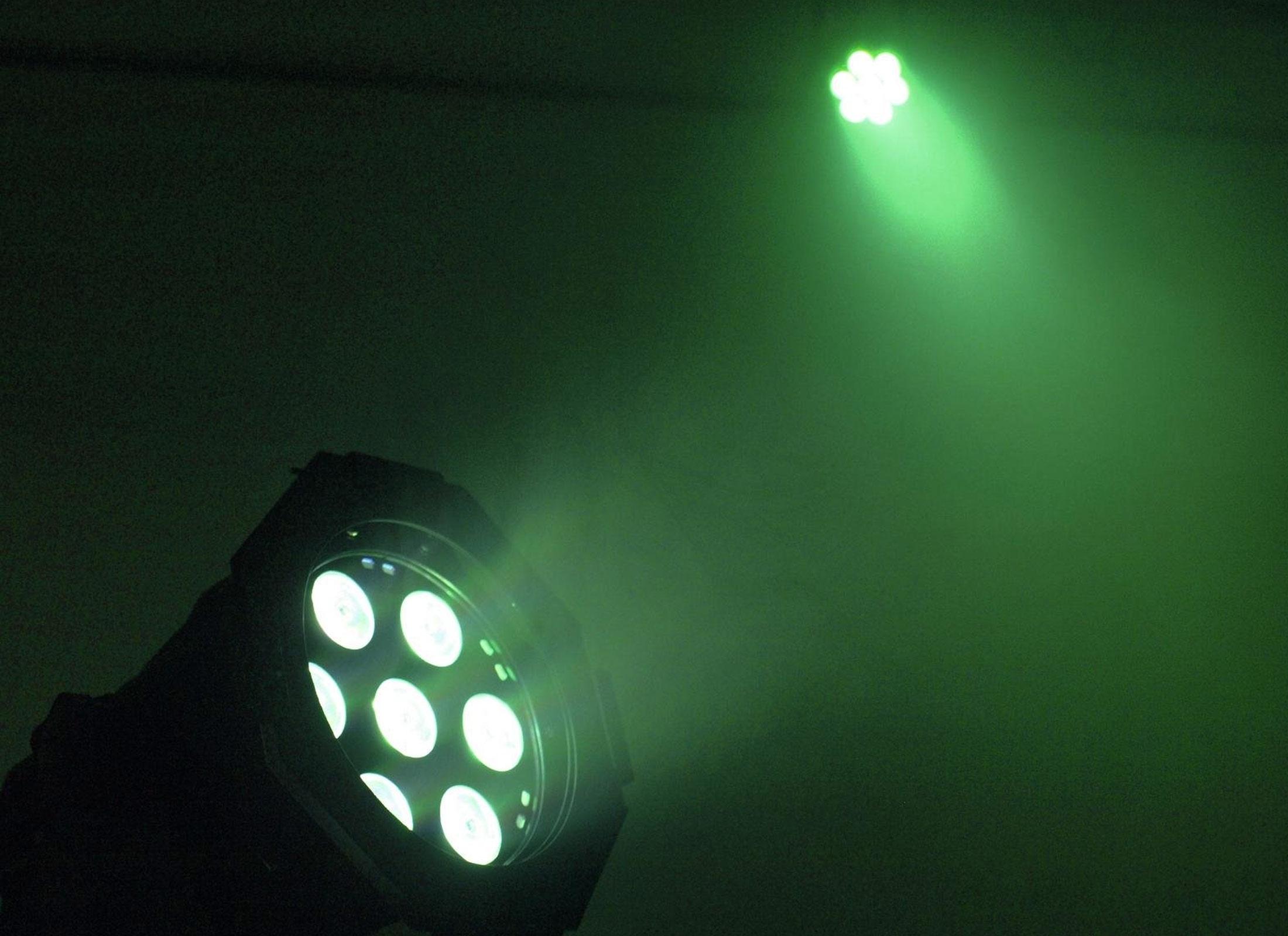 eurolite led ml 30 qcl spotlight black at huss light sound