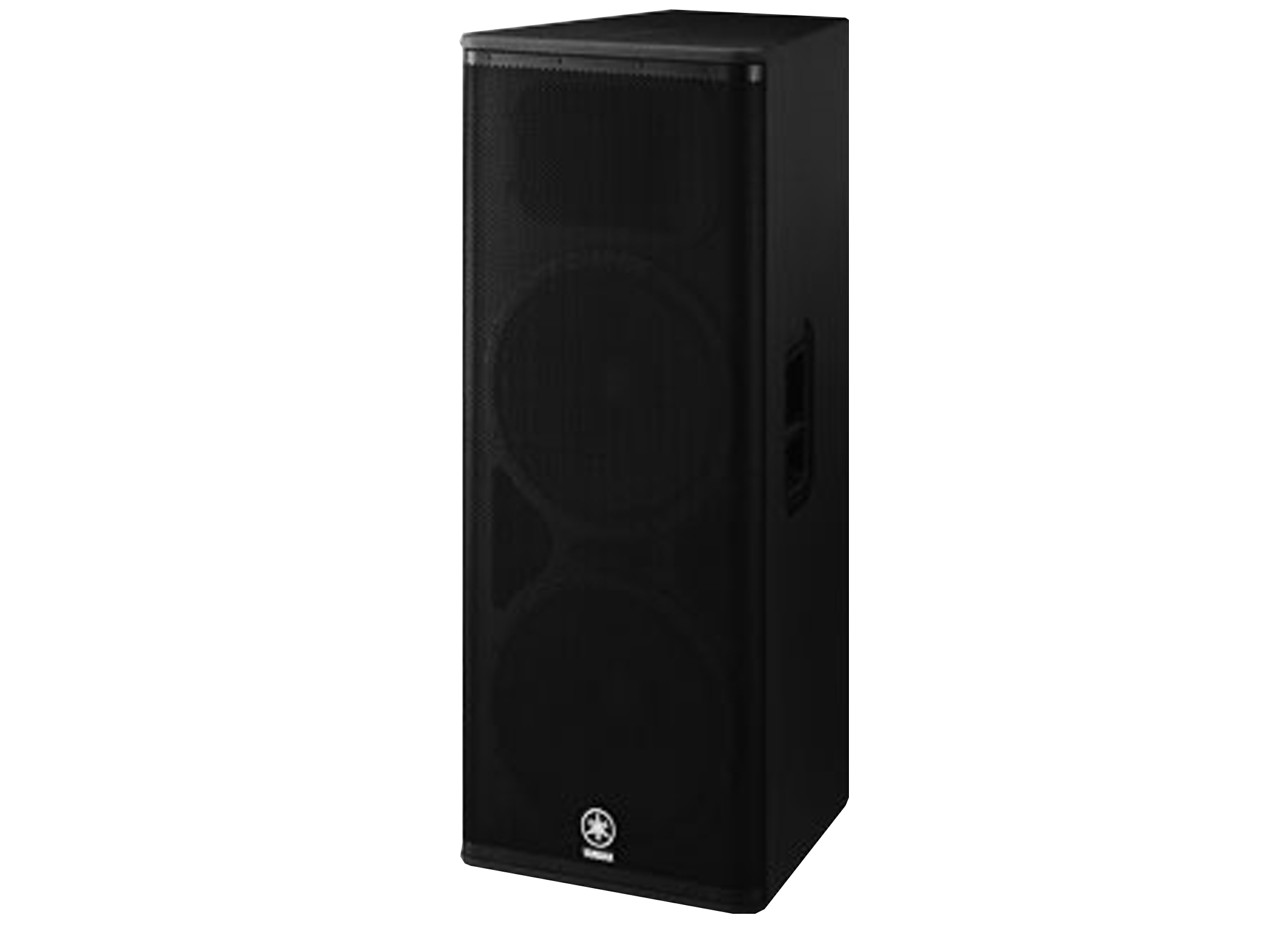 Yamaha DSR 215 Active Box, 2x15''/2'', 1300W, 90x60°, black, DSP, IN/OUT:  XLR 3pin / Jack