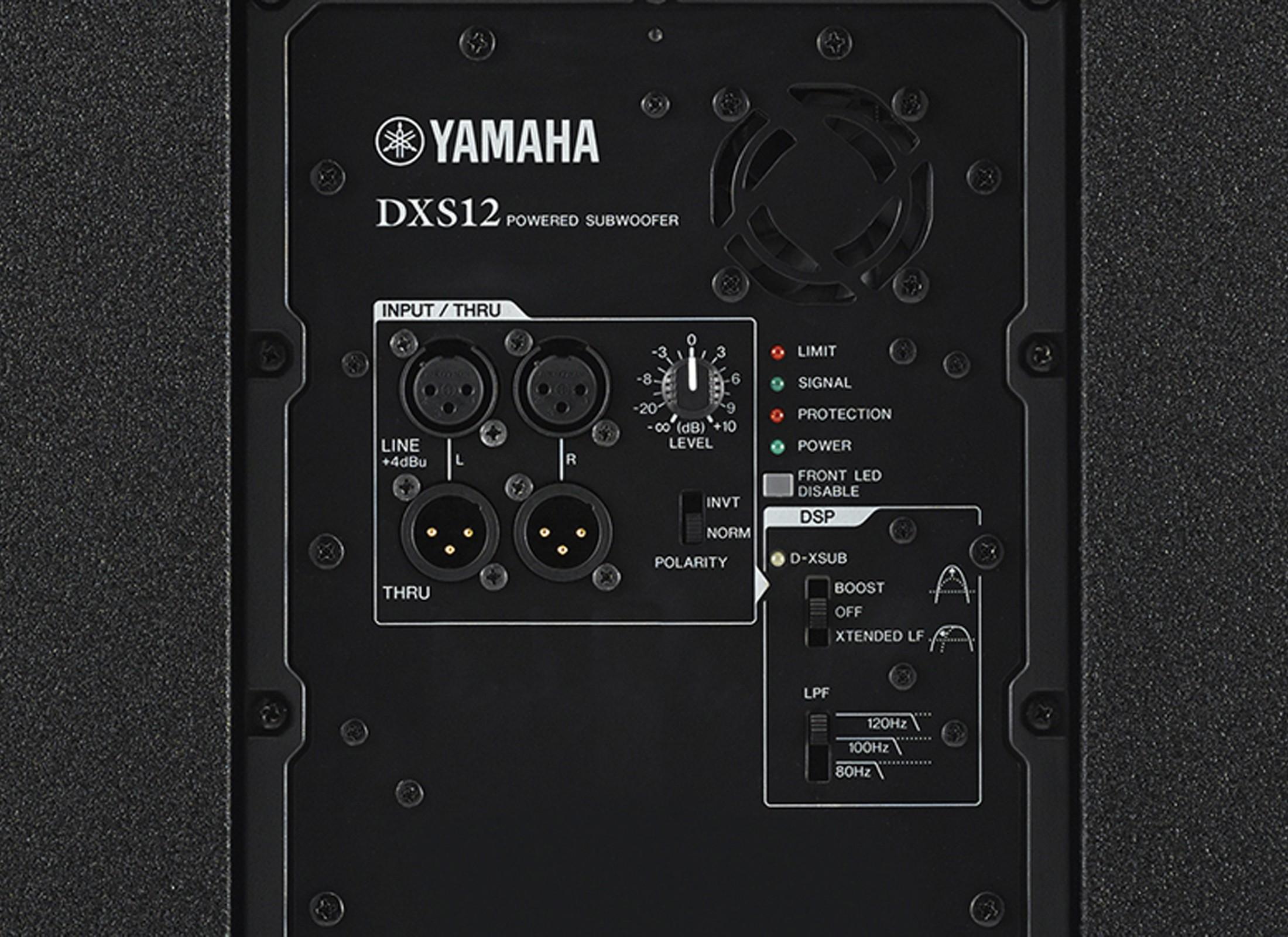 Yamaha dxs 12 aktiv subwoofer online at low prices at huss for Yamaha dxs12 specs