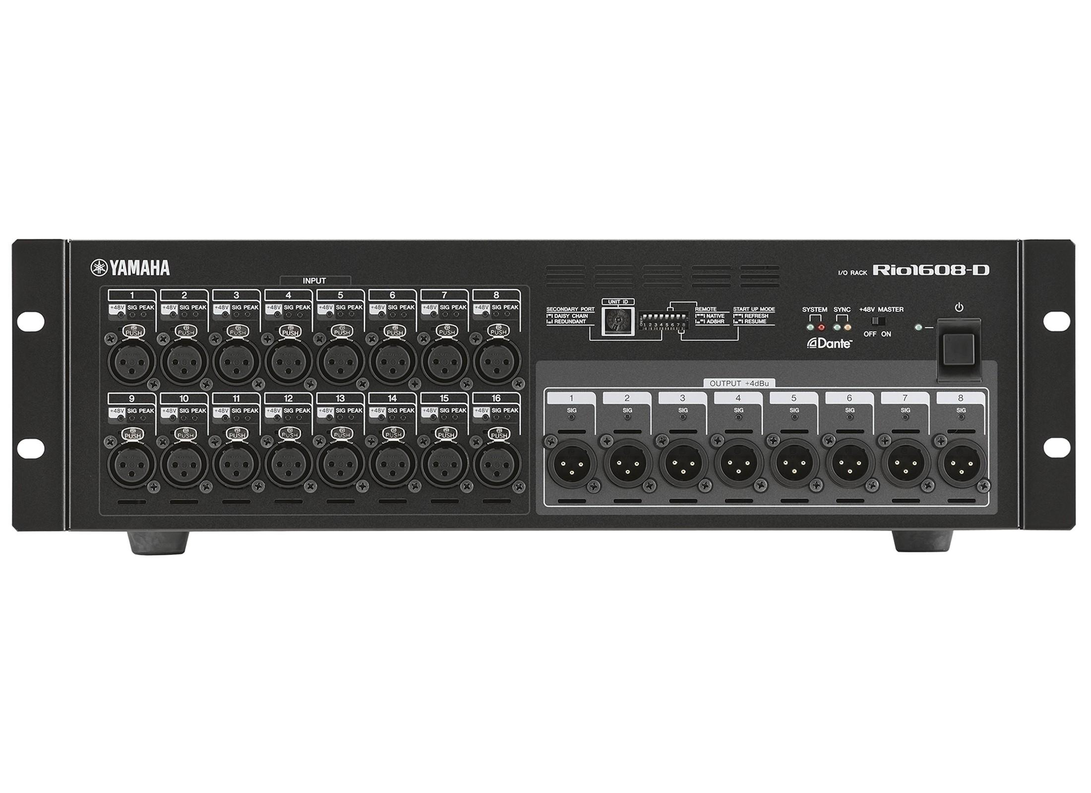 Yamaha Rio 1608-D Digital StageSpeaker - 2