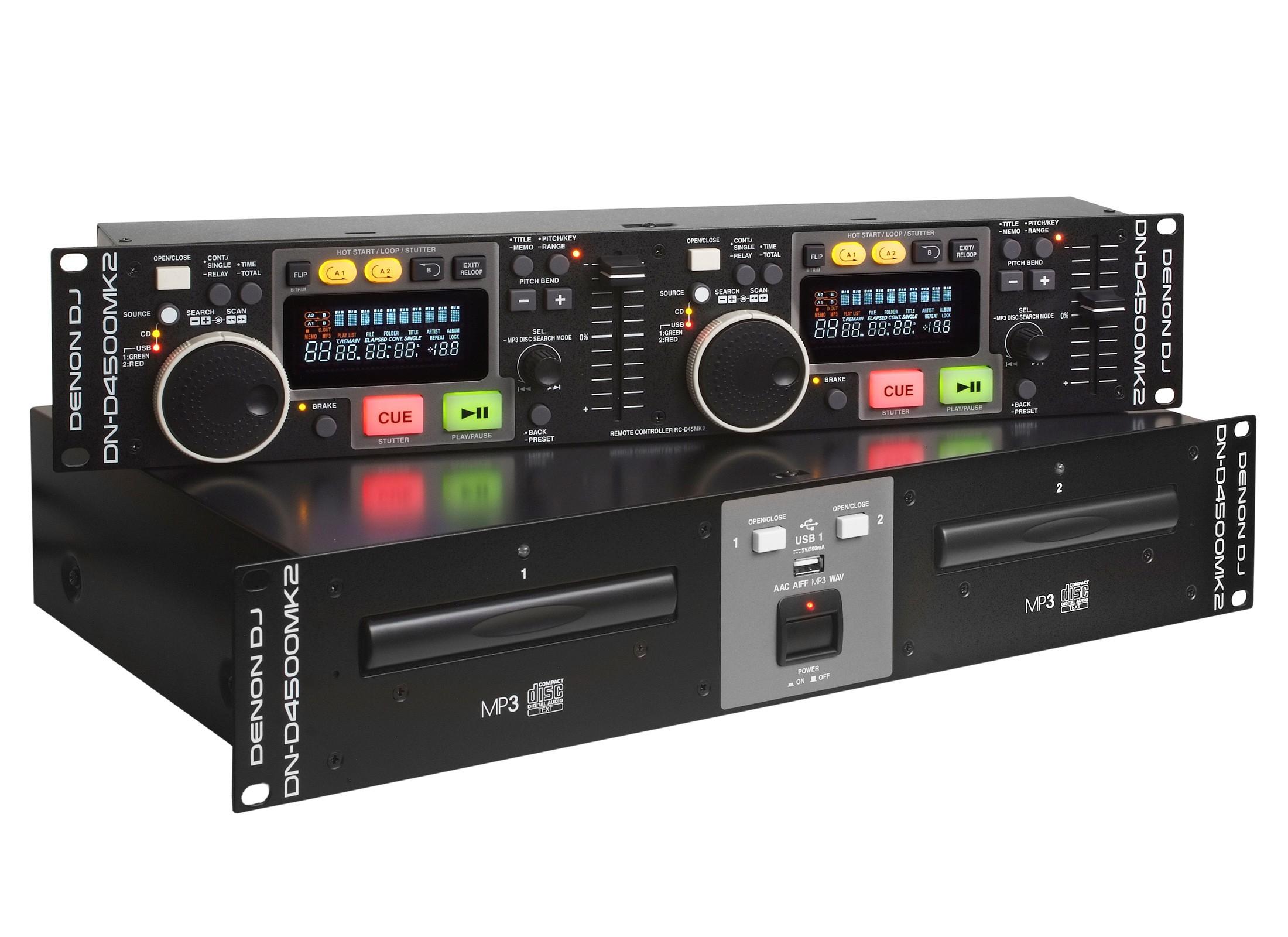 Denon DN-D4500 MKII Double CD / MP3 / USB Player - 1 ...