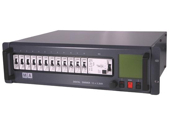 MA Lighting Digital Dimmer, 12x2.3KW, FI Schutzschalter günstig ...