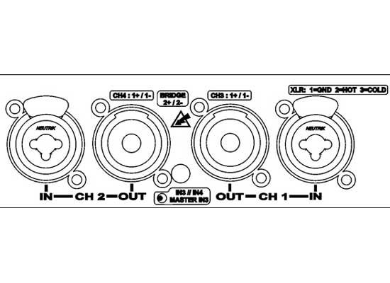powersoft digam d3002 digital amplifier at huss light  u0026 sound