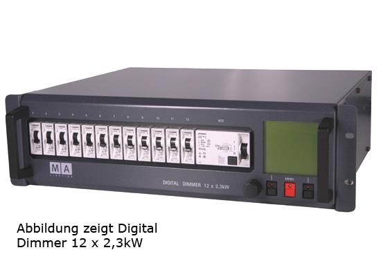 MA Lighting Digital Dimmer, 12x3.7KW, FI Schutzschalter günstig ...