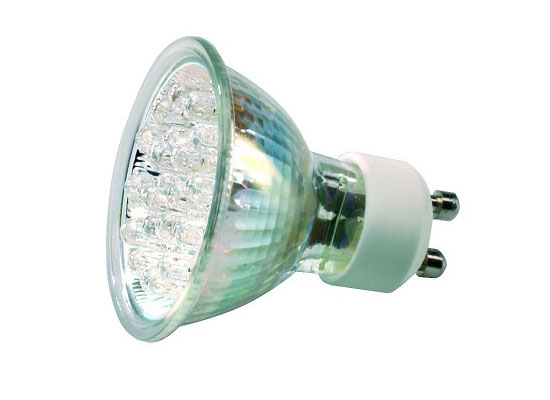 Ml v w gu led lamp bulb k dimmable warm white
