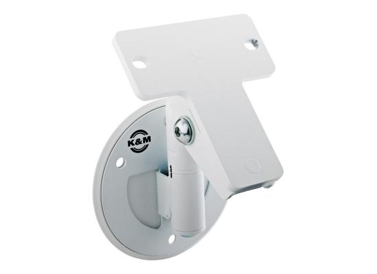 König & Meyer K&M 24161 Lautsprecherhalter Universal, weiß