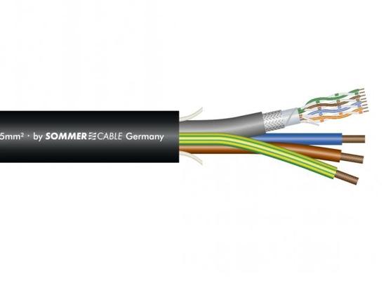 sommer cable sc monocat 110c cat 7 netzwerkkabel pvc schwarz g nstig online kaufen bei huss. Black Bedroom Furniture Sets. Home Design Ideas