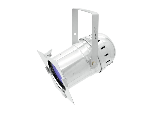 Eurolite PAR-56 LED Scheinwerfer,100W COB LED, RGB, 40°, silber