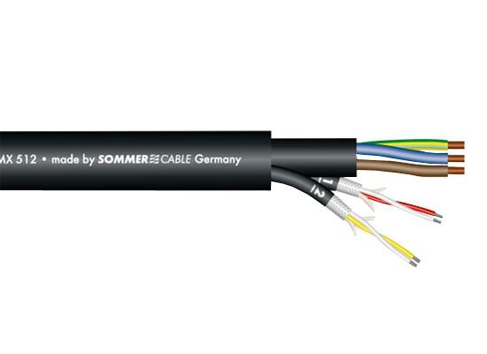 Sommer Cable Monolith 2 DMX-Kombileitung Ø16mm, schwarz günstig ...