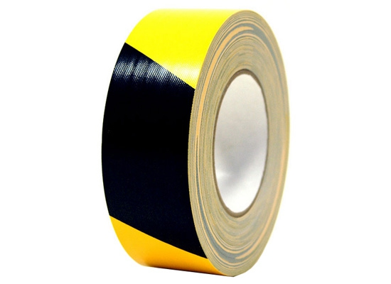 Gerband 254/50-GESW Warnklebeband, gelb/schwarz, 50mm, 50m