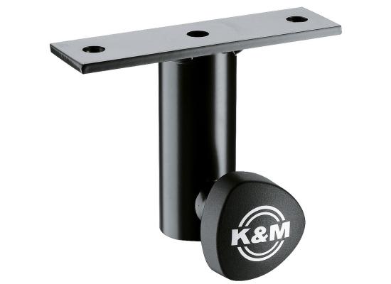 König & Meyer K&M 24281 Boxenaufbauflansch, schwarz