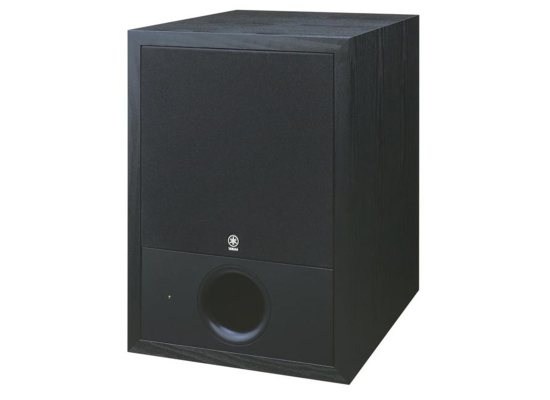 yamaha sw10 active studio subwoofer black at huss light sound. Black Bedroom Furniture Sets. Home Design Ideas