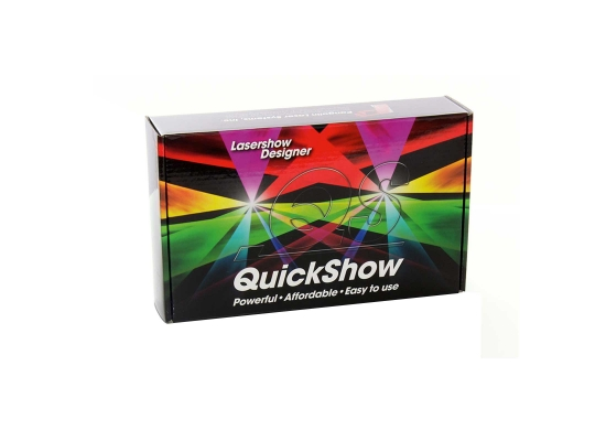 Laserworld Pangolin Quickshow Set Software, DMX, integr  Video-Tutorials,  incl  FB3-QS Interface for ILDA
