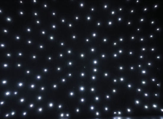 Showtec Stardrape White Led Vorhang Bei Huss Licht Amp Ton
