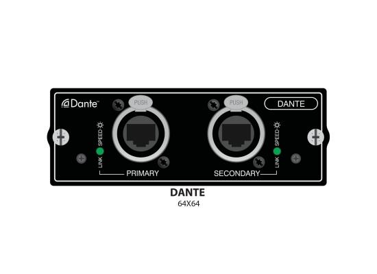 Soundcraft Si Serie Dante Interfacekarte