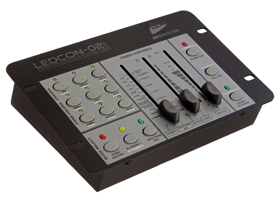 JB Systems Ledcon-02 MKII LED Controller, 4-Channel, DMX512, Stand-Alone,  Sound to Light, suitable for COB-PLANO