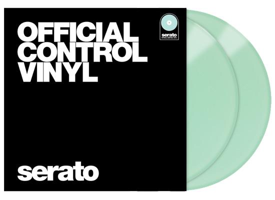 Serato Performance Control Vinyl, 12'', Glow in the Dark