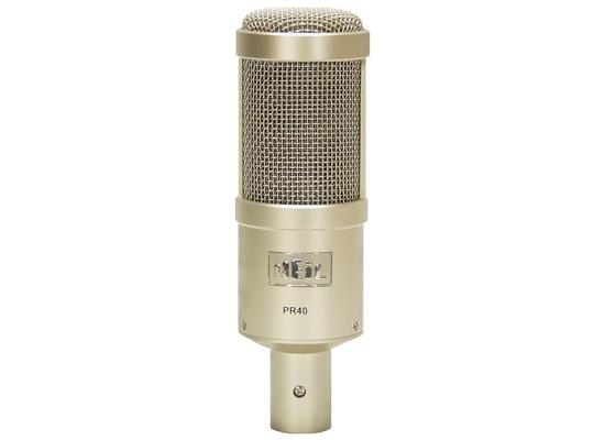 Heil Sound PR 40 Großmembran Mikrofon, nickelfarben