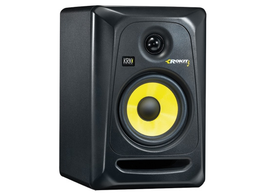 krk rokit rp5 g3 active studio monitor black at huss light sound. Black Bedroom Furniture Sets. Home Design Ideas
