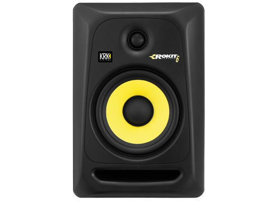 krk rokit rp6 g3 active studio monitor black at huss light sound. Black Bedroom Furniture Sets. Home Design Ideas