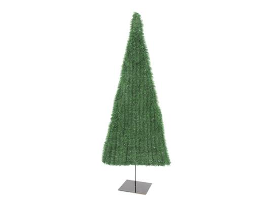 Tannenbaum 120 Cm.Europalms Fir Tree Flat Green 120cm Pvc Analyzable Incl Stand Artificial Plant