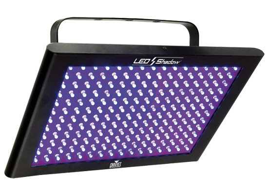 Chauvet DJ LED Shadow UV Panel / Floodl , 192x 0 25W UV LED, 28°, 3 DMX  Chann , Stand-Alone, Sound to Light, Master/Slave