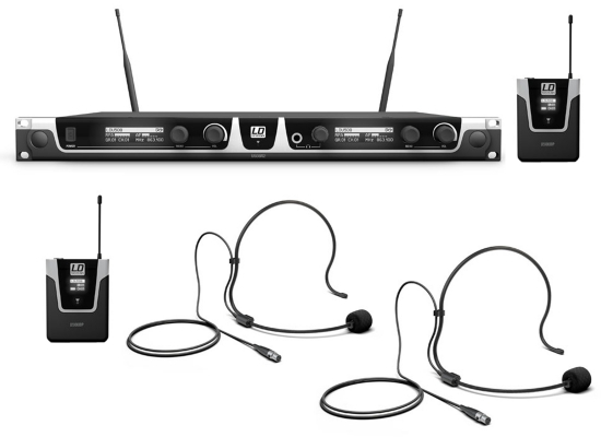 Ld Systems U508 Bph2 Wireless System Online At Low Prices At Huss