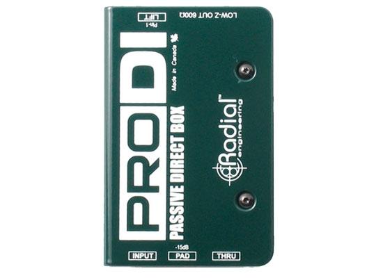 Radial PRO DI Passiv DI-Box