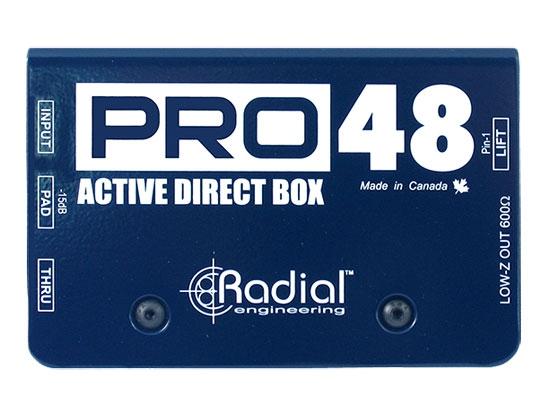 Radial PRO 48 Aktiv DI-Box