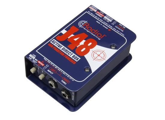 Radial J48 Aktiv DI-Box