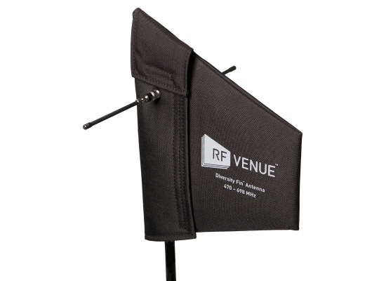 RF Venue DIVERSITY FIN Doppel-Antenne, passiv, schwarz