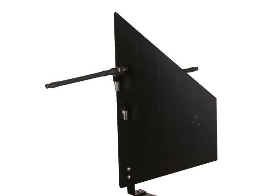 RF Venue DIVERSITY FIN B Doppel-Antenne, passiv, schwarz