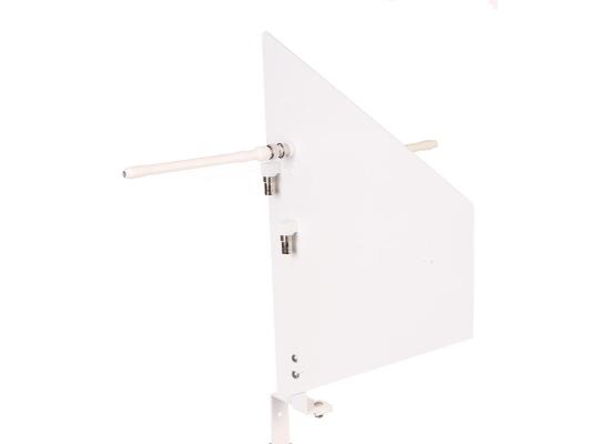RF Venue DIVERSITY FIN W Doppel-Antenne, passiv, weiß
