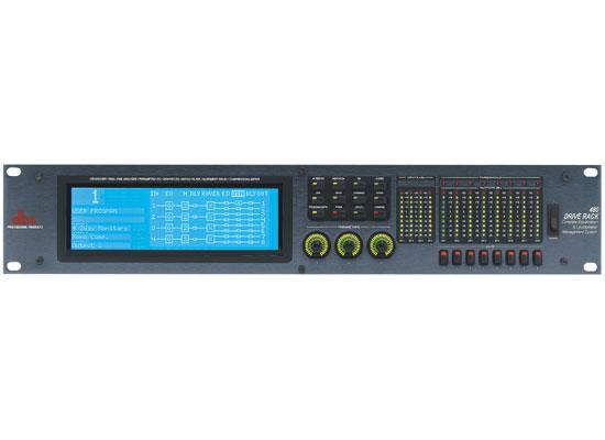 DBX Drive Rack 480 Digital LS-Management-System At Huss Light & Sound