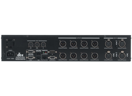 DBX Drive Rack 480 Digital LS-Management-System At Huss Light & Sound