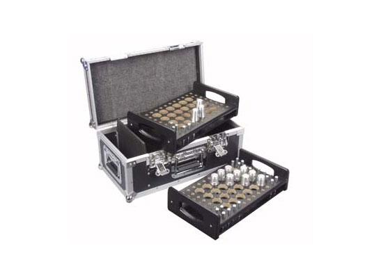 Sweetlight Case für 48x Konusverbinder, 2x Einsatz für 24 Verbinder