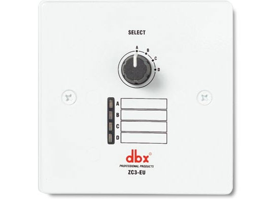 DBX ZC-3 Remote Source Selector Online At Low Prices At Huss Light ...