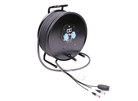 Klotz Audio Klotz Cat5 Hybrid H3T99NX060 Netzwerk Kabeltrommel