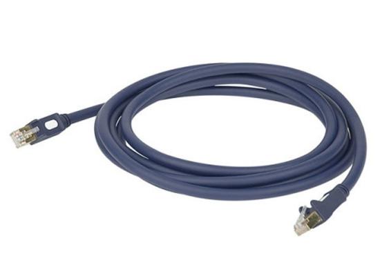 DAP Audio FL556 CAT5-Netzwerkkabel blau 6m
