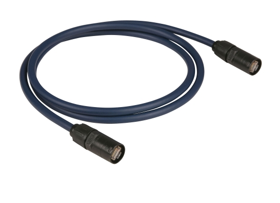 DAP Audio FL5815 CAT6E-Netzwerkkabel blau 15m
