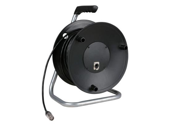 dap audio d954350 cat5 network cable reel 50m black at. Black Bedroom Furniture Sets. Home Design Ideas