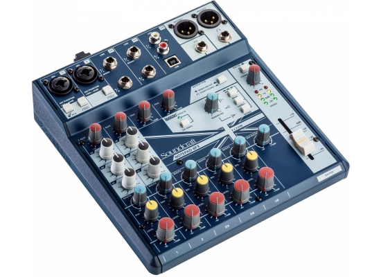Soundcraft Notepad-8FX Digitalmischpult