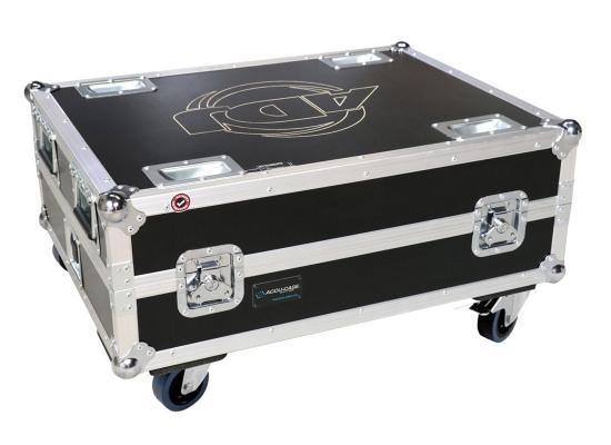 Case für 6x American DJ Element QA IP/HEX IP/QA/HEX, Ladecase