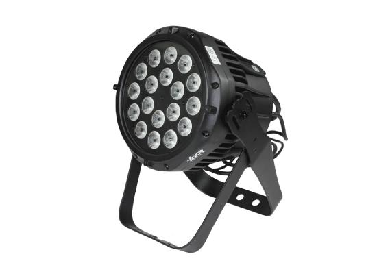 XOOP P180 LED Outdoor PAR, SCHWARZ