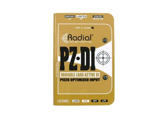 Radial PZ-DI Aktiv DI-Box