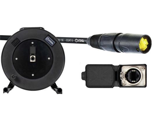 Cordial Cable Cordial CSE 50 NN 5 SD 1 CAT5-Netzwerk Kabeltrommel, 50m