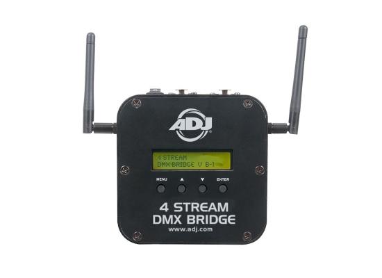 American DJ 4 Stream Bridge DMX Wireless Sender, DMX, 3x XLR 5pol, 2.4GHz, Mini USB, IOS, iPhone, iPad kompatibel