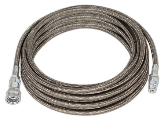 Universal Effects Power CO2 , High Pressure Hose 10m, Quick Connector 3/8''  Typ2, 1x male / 1x female